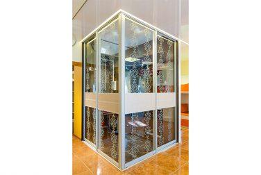 Шкаф-купе со стеклом Роулинс