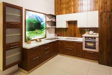 Большая кухня Лигнум витае