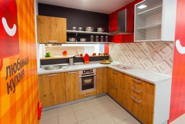 Компактная кухня Лофт в сером