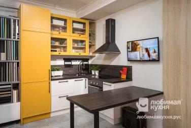 Компактная кухня Лаксе